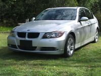 2008 BMW 3-Series int, noir cuir Berline