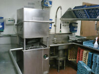 3 1/2 years of kitchen experience (dish washing/cleaning/prep)