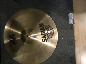 DRUM,CYMBALE CHINESE SABIAN AA PAISTE RUDE CRASH RIDE 16 POUCES.