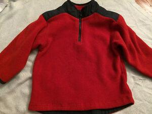 Boys Gap size 2 fleece zip-up