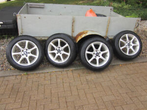 VW/Audi Winter Wheels with Alloy Rims