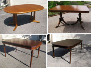 Sell-off:  4 Antique /MCM  Vintage Dining Tables- Make an Offer!