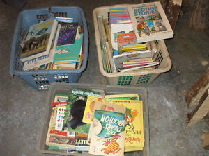 3 CLOTHES BASKETS FULL OF KIDS BOOKS FOR SALE Belleville Belleville Area image 1