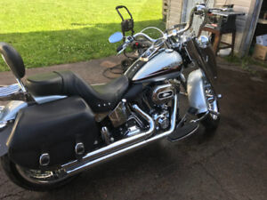 2010 HARLEY DAVIDSON FATBOY TRADE FOR SIDE X SIDE