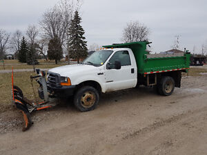 F450 Dump Truck with Plow