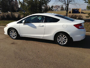 2012 Honda Civic EX-L 2 Door Coupe Very Low KMs. No GST