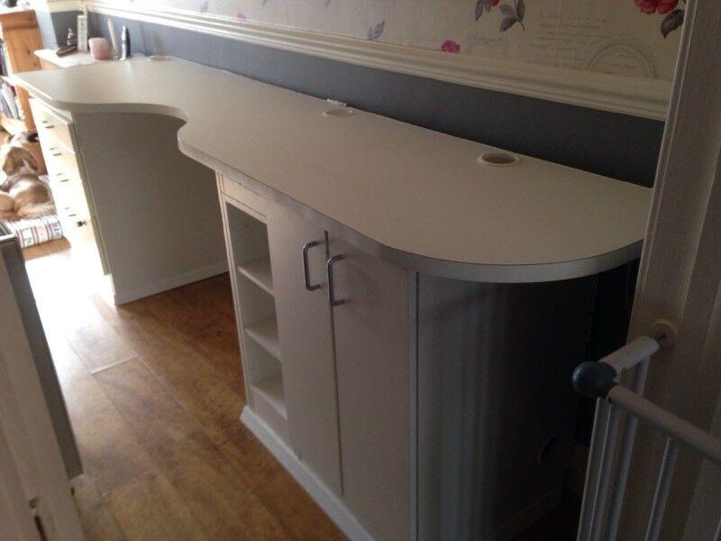 White desk reduced price