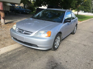 2003 Honda Civic Coupe (2 door) Low Mileage Reduced to $4400