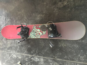 Women's Burton Snowboard + Morrow Bindings