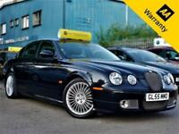 2006 JAGUAR S-TYPE 2.7V6 XS 206 BHP+P/X WELCOME+AUTO+BODY-KIT+LEATHER+FULL S-HIS