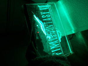 FINAL FANTASY LED SIGN