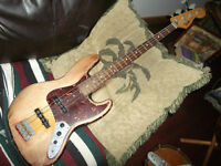2009 Fender road worn jazz bass