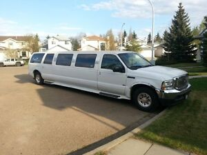 2002 Ford Excursion Other, Limousine 12 pass stretch , white