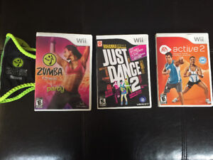 Wii Games - $20 for all 3