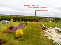 Country Estate Lot 1 Bayfield with Pond