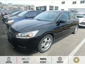 2013 Honda Accord Touring V6 FRONT AND REAR HEATED LEATHER SE...