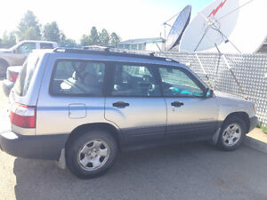 2002 Subaru Forester L Wagon AWD - No Accidents