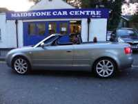 AUDI A4 1.8T SPORT CABRIOLET ** 2004 ** RED LEATHER **