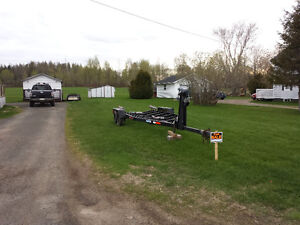 Trailer for baot 16ft by 28ft galvanize..real good shape.