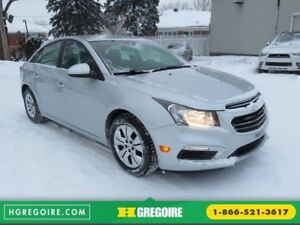 2015 Chevrolet Cruze 1LT AUT A/C CAMERA BLUETOOTH GR ELECTRIQUE