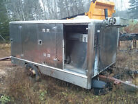 heavy duty tailgate lift and catering box