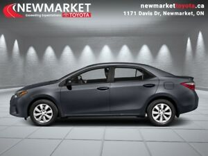 2015 Toyota Corolla LE  - local - trade-in - Certified - $51.51