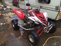 Yamaha raptor quad 700cc raod legal