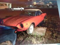 Fort McMurray ... Fiat 124 Sport Conv... Project car! Asking