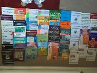 Large collection of educational books