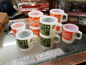 FIRE KING CUPS...NEVER USED