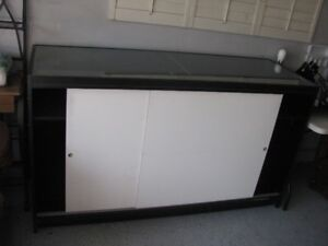 DISPLAY CABINET STORE GLASS DISPLAY CABINET WITH SLIDERS DOORS