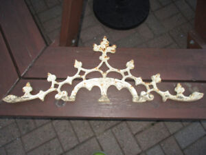 A great quality metal piece for your outdoor space