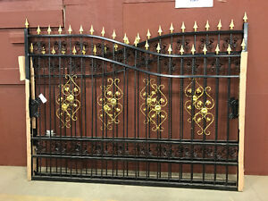 New Wrought Iron Gate 20ft