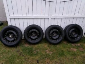 Nokian Hakkapeliitta 7 Studded Tires with Rims