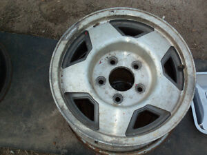 Chevrolet  car and truck wheels large bolt pattern