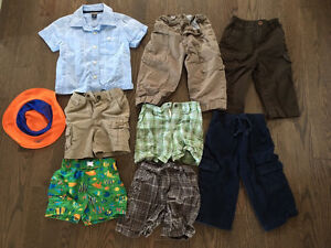 Boys 12 month clothing lot- quicksilver, Kenneth Cole and more Kitchener / Waterloo Kitchener Area image 1