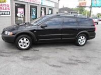 CLEAN !!  2002 VOLVO CROSS COUNTRY WAGON AWD  SUNROOF-LEATHER  !