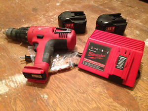 Milwaukee 14.4V batteries and charger!