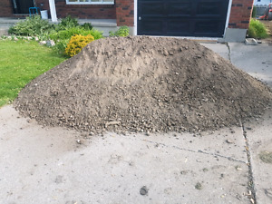 Topsoil for free.