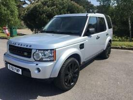 2011 61 LAND ROVER DISCOVERY 3.0 4 SDV6 GS 5D AUTO 255 BHP DIESEL