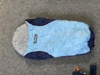 Vango Blue baby sleeping bag