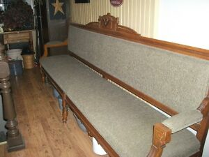 Masonic lodge bench