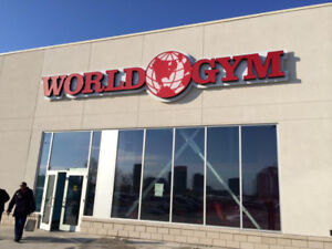 physical rehab clinic offering 1 year world gym membership