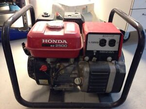 FOR SALE! Honda EZ 2500 Generator