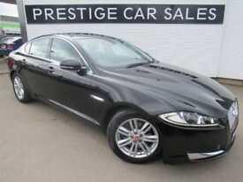 2015 Jaguar XF 2.2 TD Luxury (s/s) 4dr Diesel black Automatic