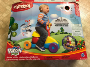 Playskool Poppin' Park Bounce 'n ride toddler toy $20