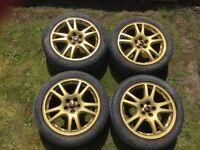 Subaru Impreza sti wheels alloys BARGAIN