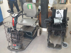 Electric wheelchair & electric scooter - #HFHReStore
