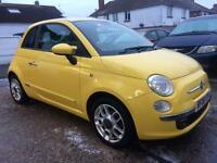 Fiat 500 1.2 SPORT COMPLETEB WITH M.O.T HPI CLEAR WARRANTY INC LOW MILEAGE
