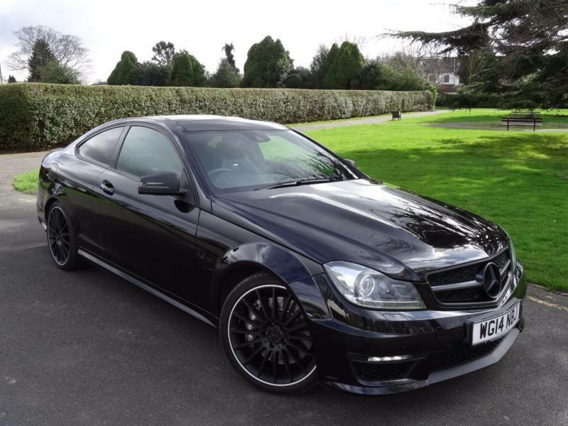 Mercedes c class c63 amg mct coupe 2014 14 in redbridge for Mercedes benz c63 2014